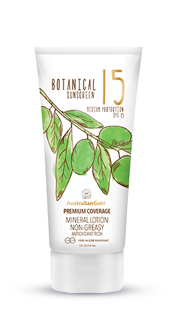 BOTANICAL SUNSCREEN SPF 15  MINERAL LOTION